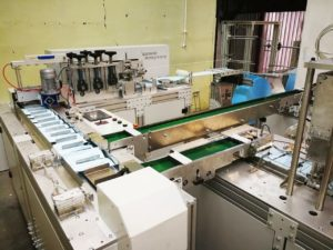Автоматизированная линия GRINIK для производства защитных масок