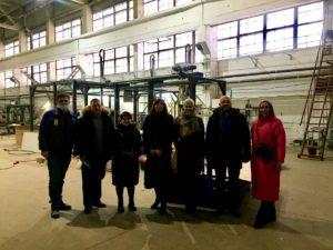 Экскурсия на заводе Grinik Robotics для представителей пермских компаний